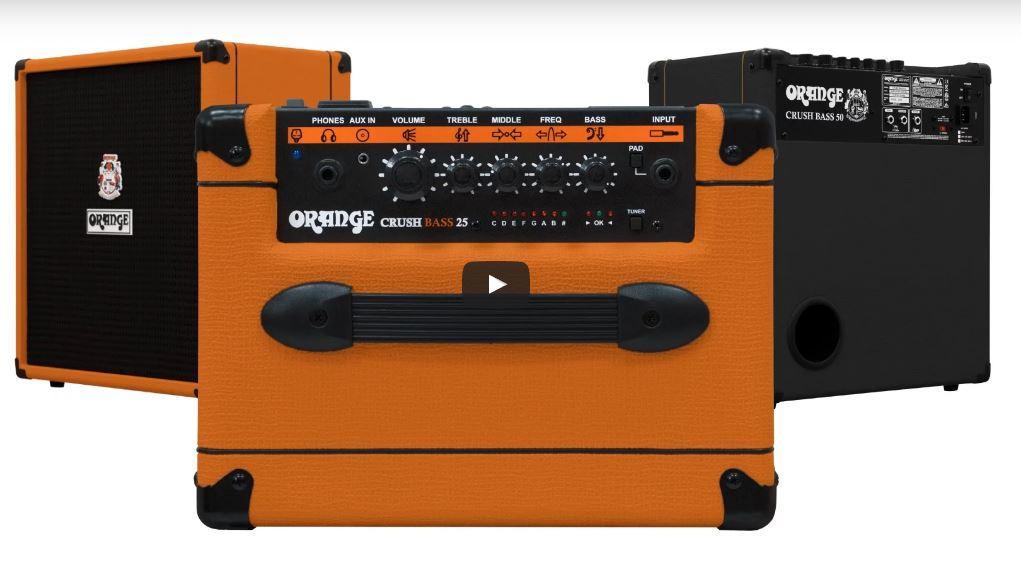 Nouveaux amplis basse Orange